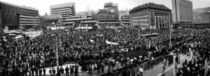 Generální stávka 27. 11.1989 Ústí nad Labem (1)