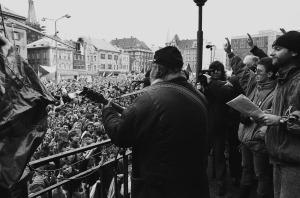 Generální stávka 27. 11.1989 Ústí nad Labem (6)