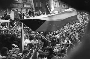 Generální stávka 27. 11.1989 Ústí nad Labem (7)