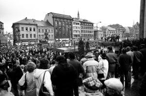 Generální stávka 27. 11.1989 Ústí nad Labem (8)