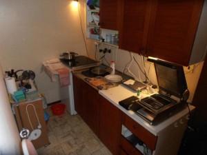 Jídla vyráběl v kuchyňském koutě FOTO SZPI (1)