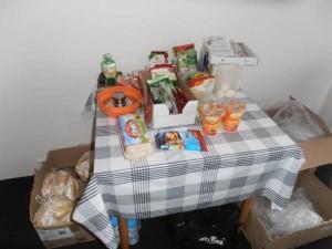 Jídla vyráběl v kuchyňském koutě FOTO SZPI (3)