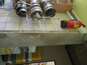 Jídla vyráběl v kuchyňském koutě FOTO SZPI (4)