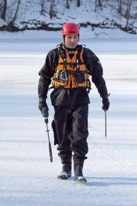 Měření ledu ve Varvažově (1)