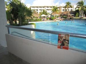 Žít Ústí si užívá atmosféru hotelu v Mexiku.  Foto: Václav Kulič