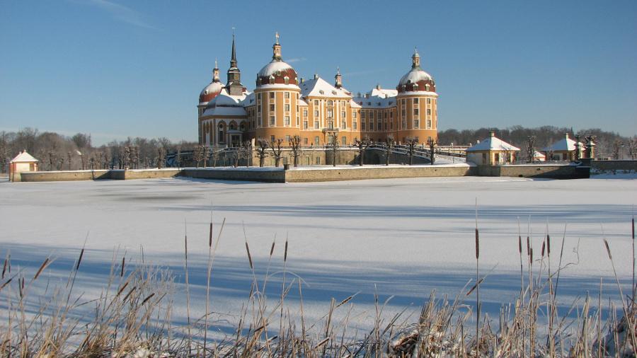 Zámek Morizburg Foto: Jaromír Komárek