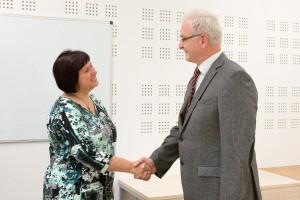 Renata Cornejo a Karl-Heinz Gmehling