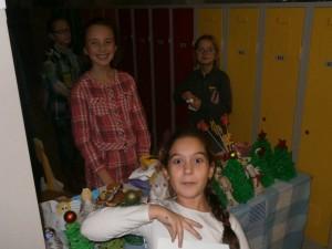 Vánoční trhy ZŠ Stříbrnická (2)