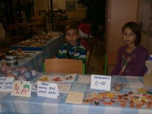 Vánoční trhy ZŠ Stříbrnická (4)