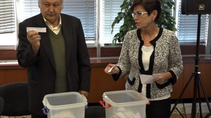 Losování čísel pro krajské volby