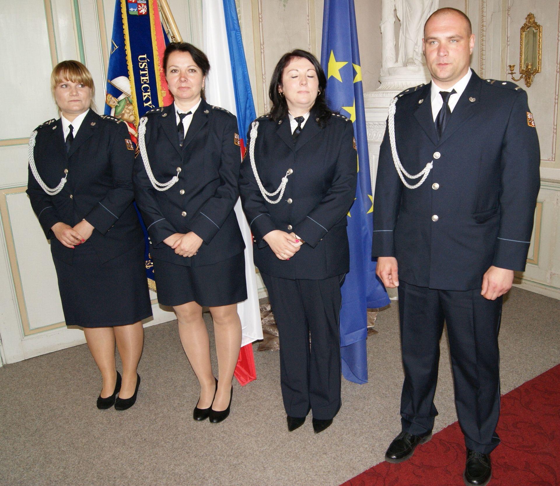 Služební medaile hasiči