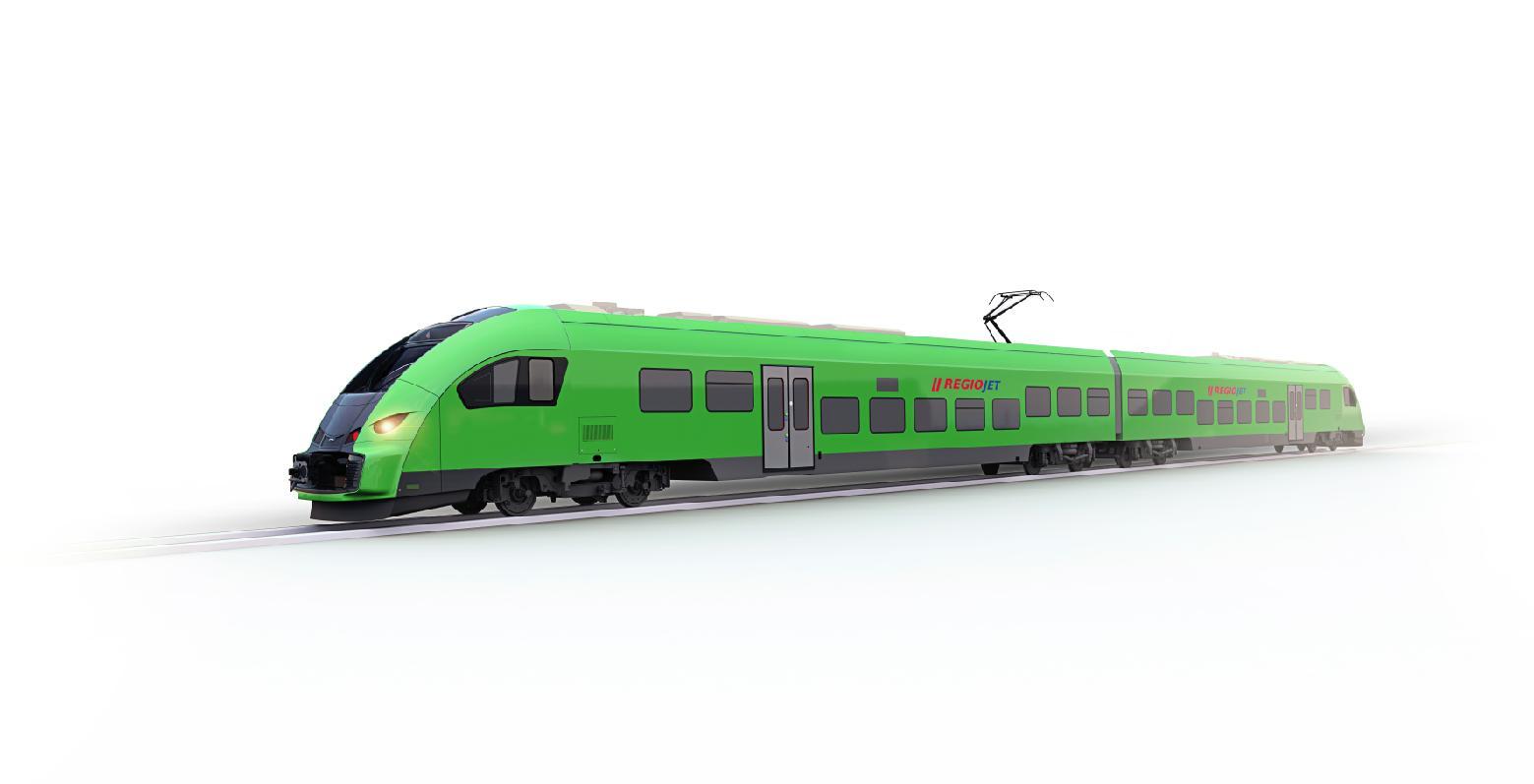 Nové moderní vlaky regiojet
