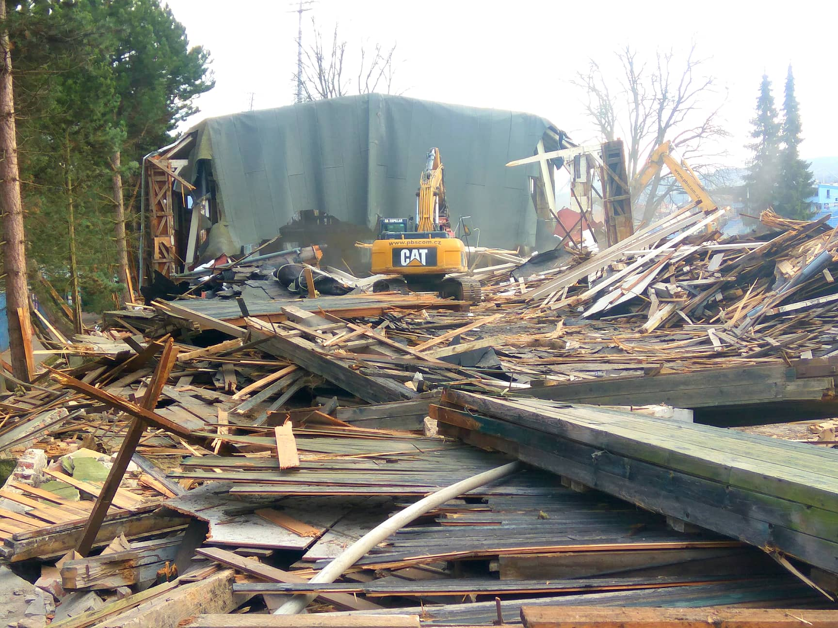demolice stadionu 4