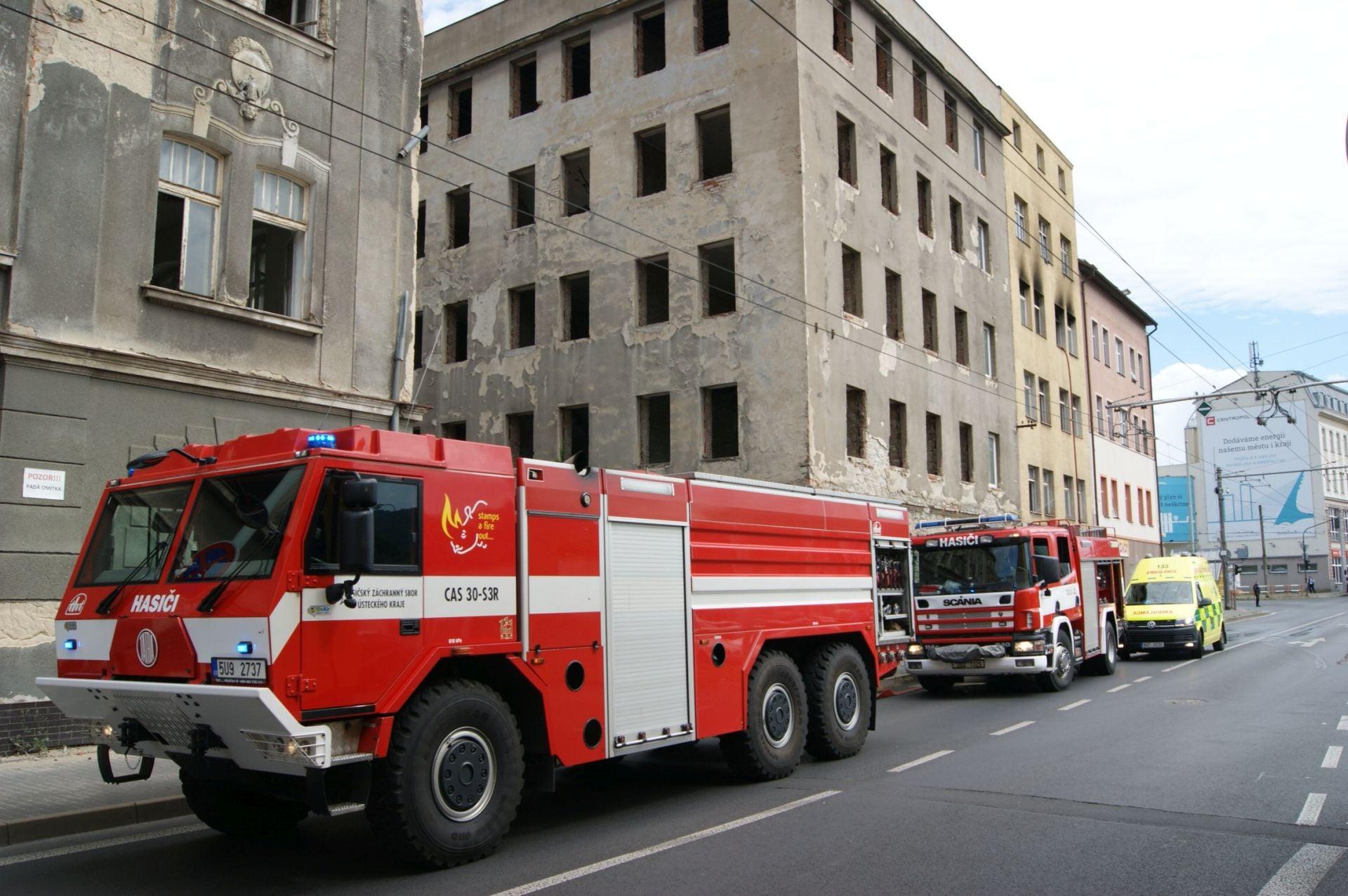 hasiči ul1